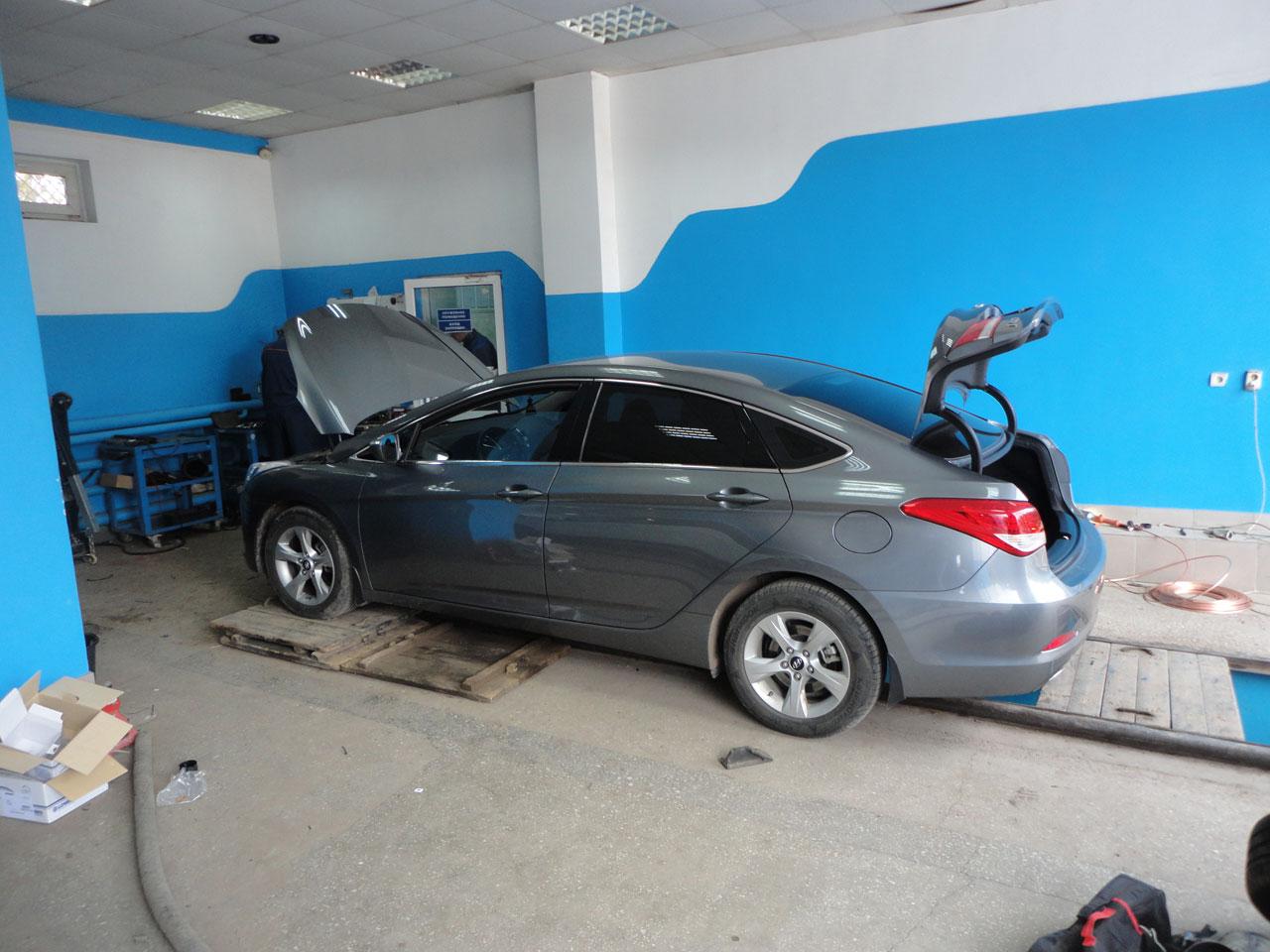 Установка ГБО Hyundai i40