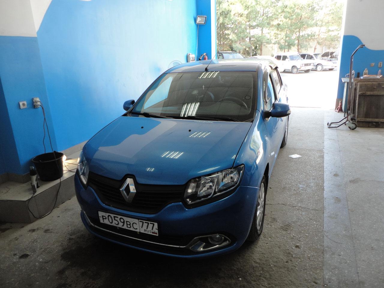 Установка ГБО Renault Logan