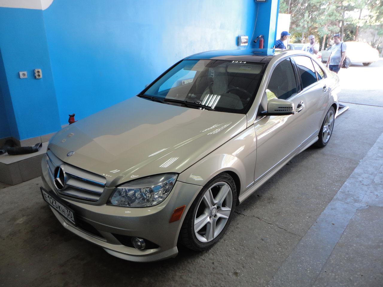 Установка ГБО Mercedes-Benz
